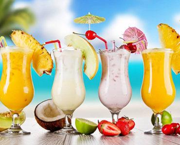 рецепты фруктовых коктейлей