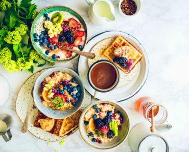5 идей для здорового и быстрого завтрака
